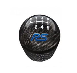 Gear Shift Knob Carbon Fiber & Black